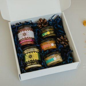 Įvairių skonių medaus rinkinys 1