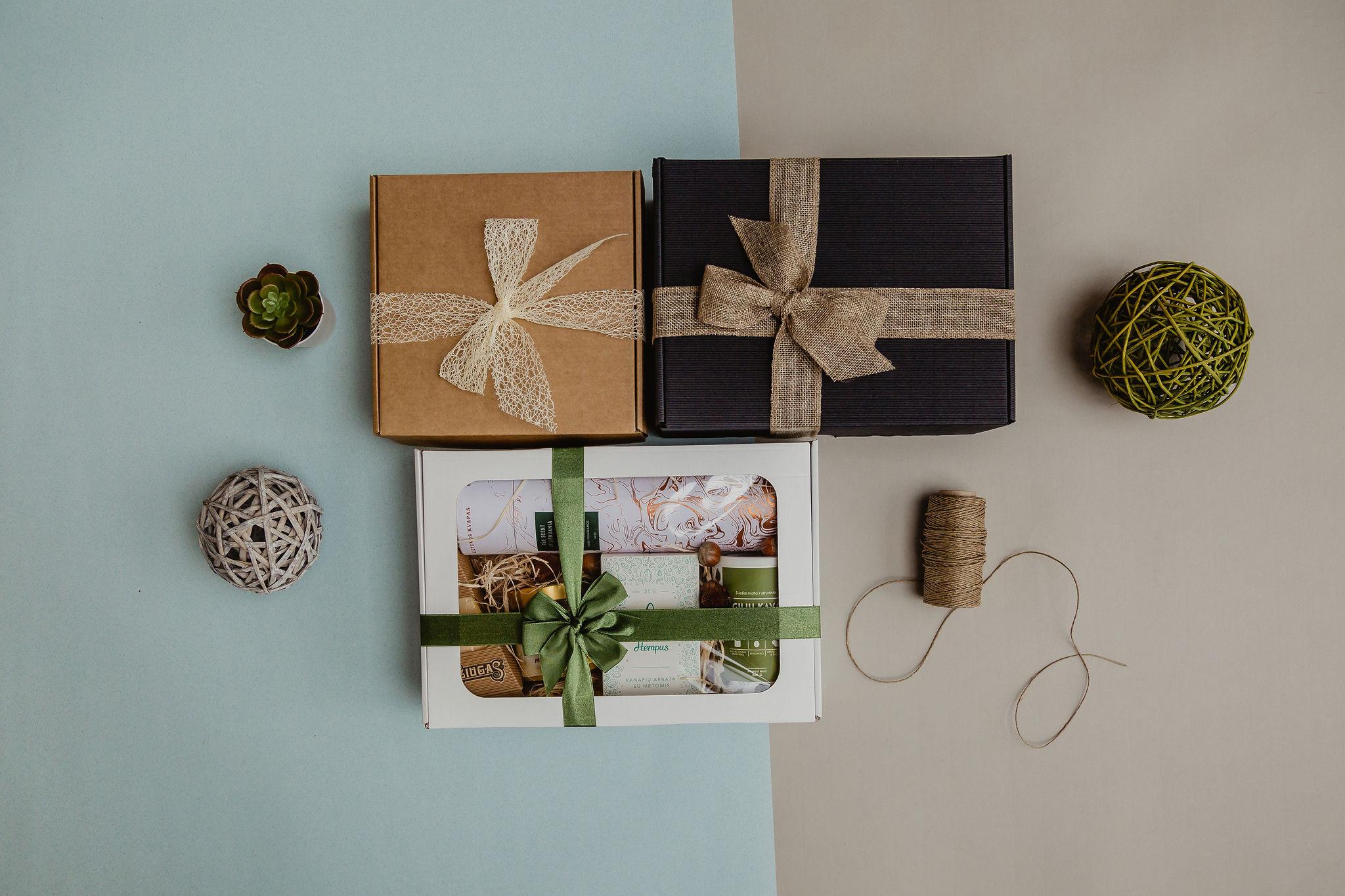 Verslo dovanų rinkiniai