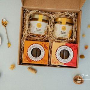 Tradicinių skonių arbatos ir medaus rinkinys 1