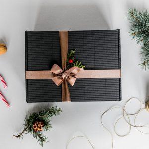 Kalėdinė dovana su šimtalapiu