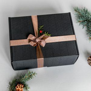 Kalėdinė dovana su šimtalapiu 2