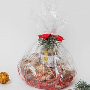 Kalėdinė dovana su pyragu 1