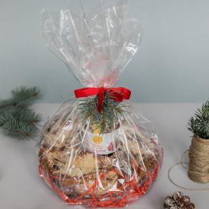 Kalėdinė dovana su pyragu